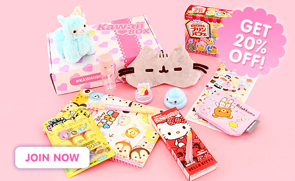 20% rabatt på Kawaii Box